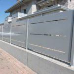 recinzione in lamiera in taglio laser zincata e verniciata